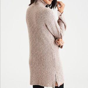American Eagle Chunky Turtleneck Sweater Dress